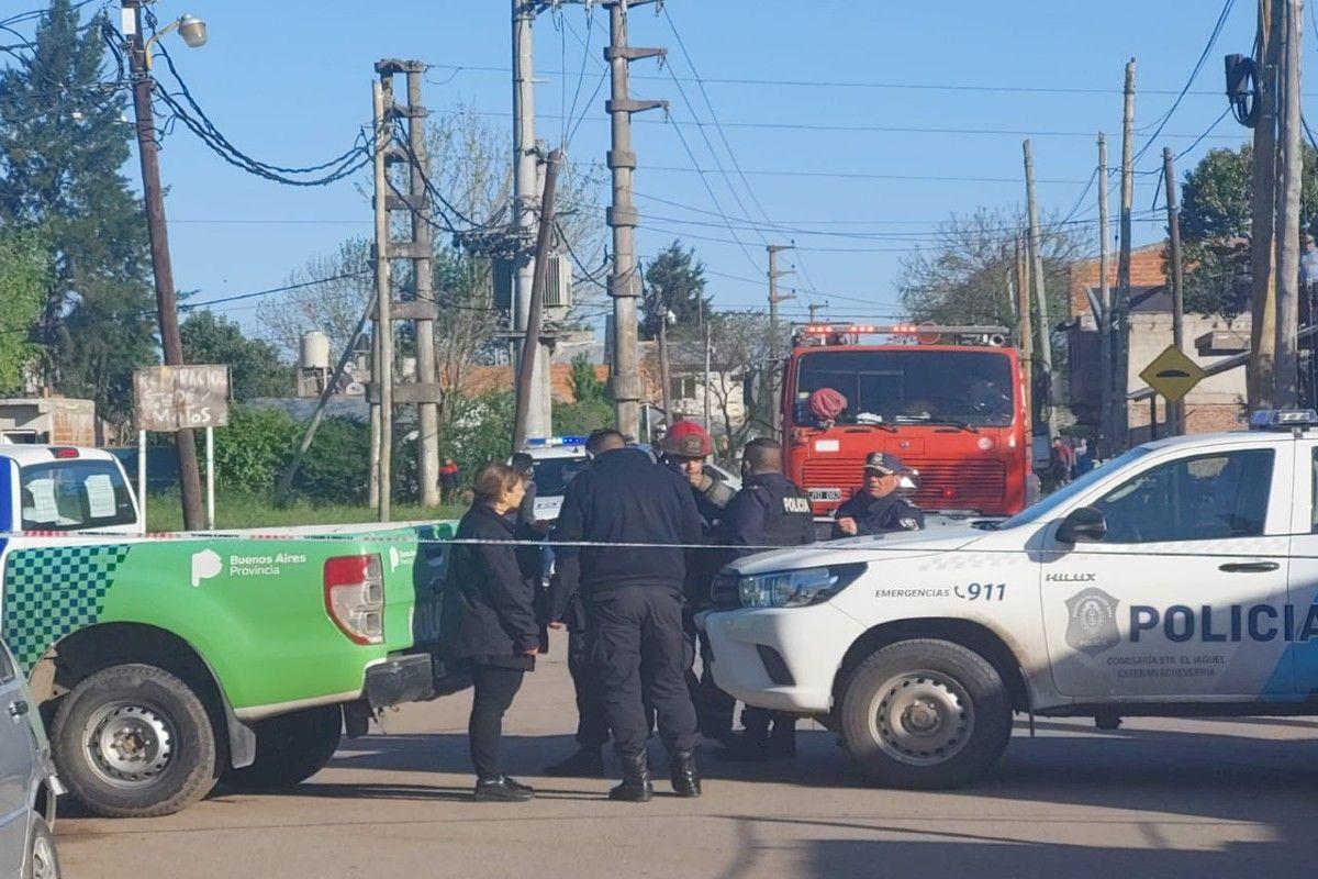 Drama en El Jagüel: un joven se atrincheró con un arma y debió intervenir el Grupo Halcón