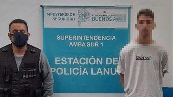 Lanús: cayó el autor del crimen de Gonzalo Refi