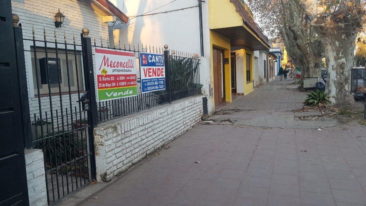 San Vicente: lista de espera para alquilar locales comerciales en el centro