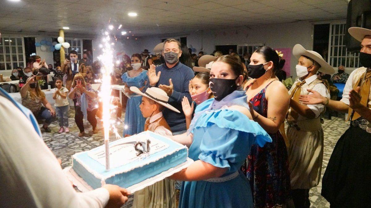 Fernando Gray celebró un nuevo aniversario del ballet