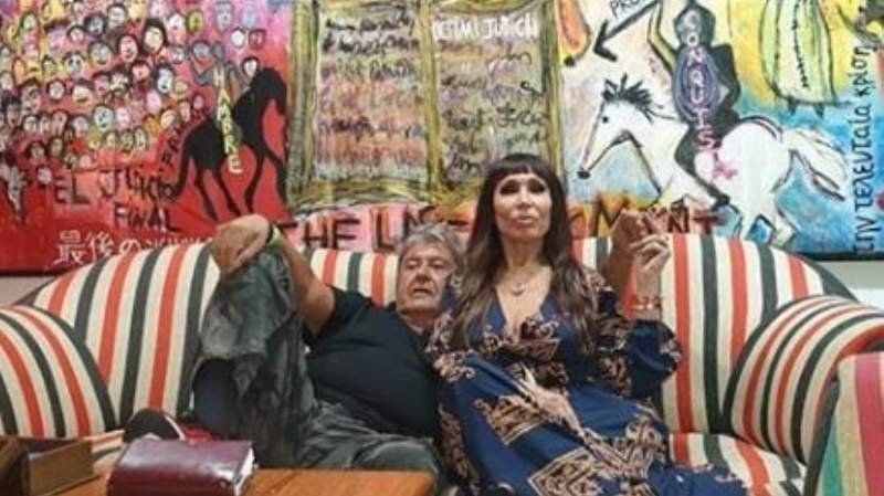 Moria Casán presentó a su pareja, un artista de zona sur