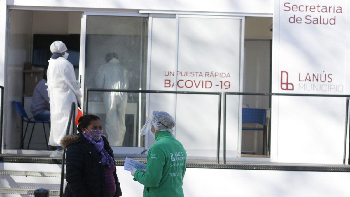 Lanús: los operativos del Covid-19 llegan a zonas céntricas