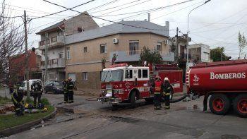 Alerta en Lanús por un escape de gas en una vivienda