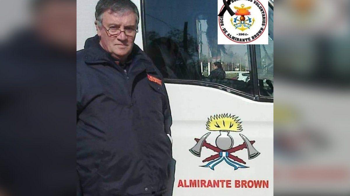 La historia de Julio Cesar Pentassuglia, un pionero del cuartel de bomberos de Claypole