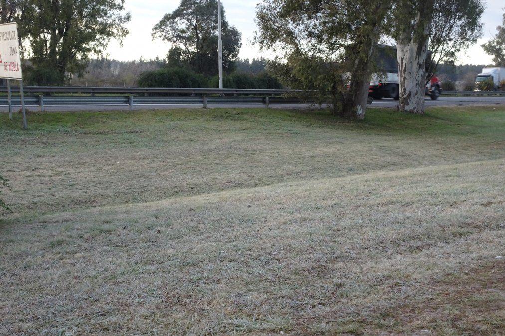 Canning blanco: así amaneció la ciudad en el día más frío del año