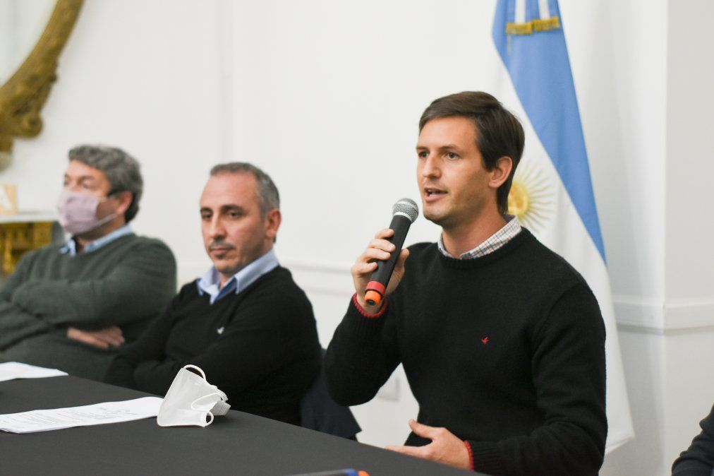 La presentación del programa de cannabis medicinal en San Vicente.