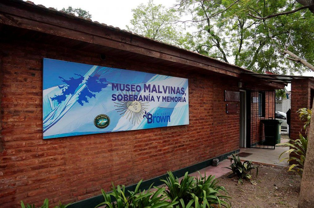 Los excombatientes de Malvinas de Almirante Brown inauguraron su museo
