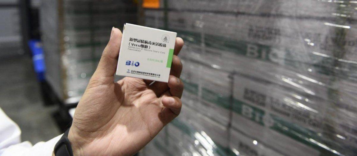 La provincia emitió 299 mil turnos para la segunda dosis de Sinopharm