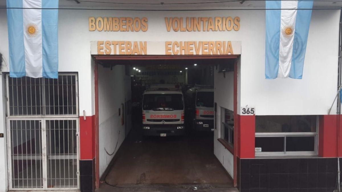 Los Bomberos Voluntarios de Echeverría cumplieron 75 años.