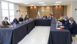 Alberto Fernández junto a gobernadores del Frente de Todos en La Rioja