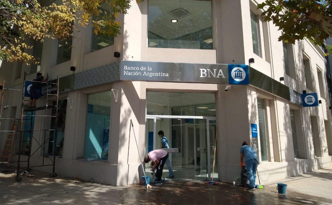 San Vicente: mañana inauguran el Banco Nación