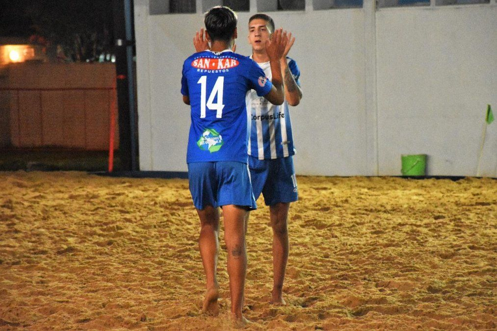 El fútbol playa de ADCC debutó oficialmente