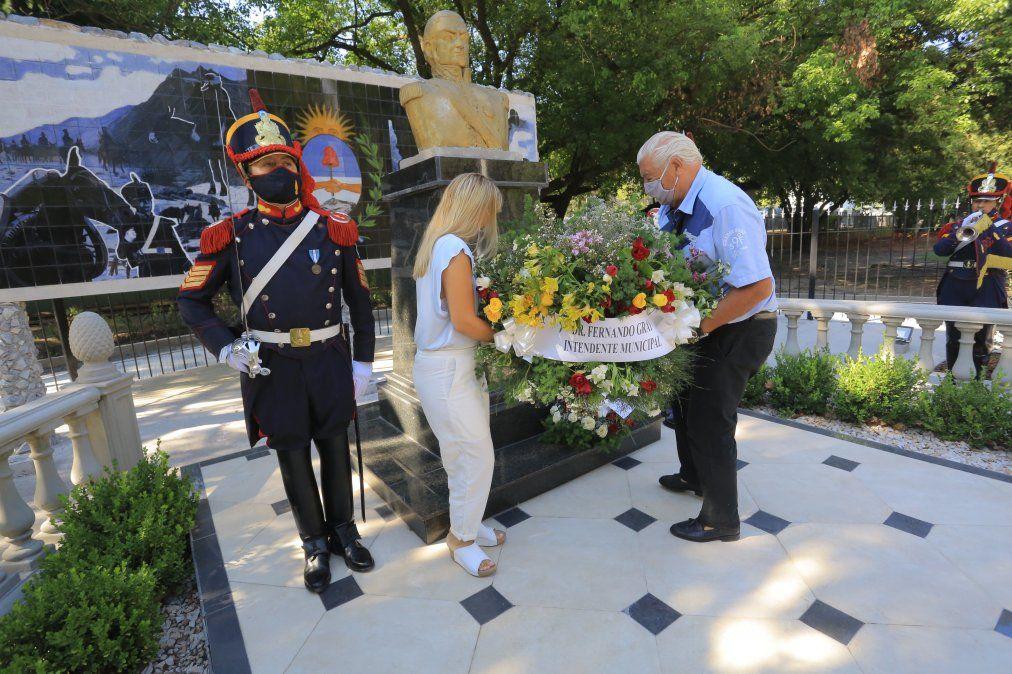 Homenaje a San Martín en Monte Grande por su natalicio