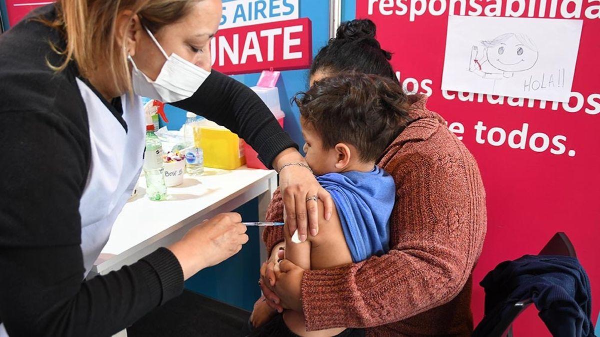Desde hoy, los menores de 3 a 11 años comenzaron a vacunarse contra el coronavirus en provincia.