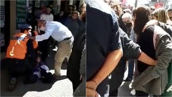 Arrebató un celular en la peatonal de Lomas y fue golpeado por los vecinos