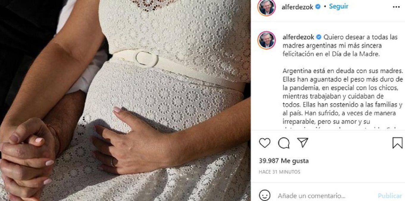 Alberto Fernández saludó a Fabiola Yáñez y reveló un dato inesperado