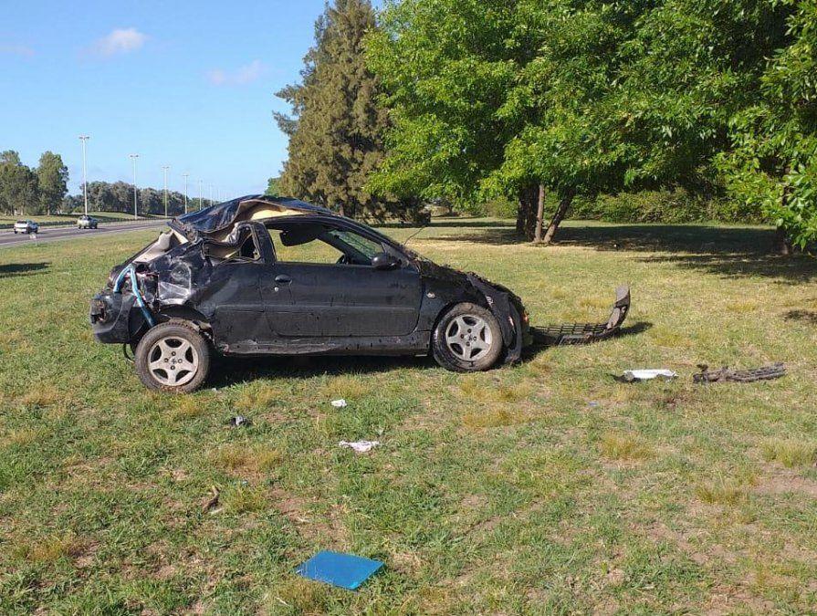 Otro violento accidente en la autopista Ezeiza-Cañuelas