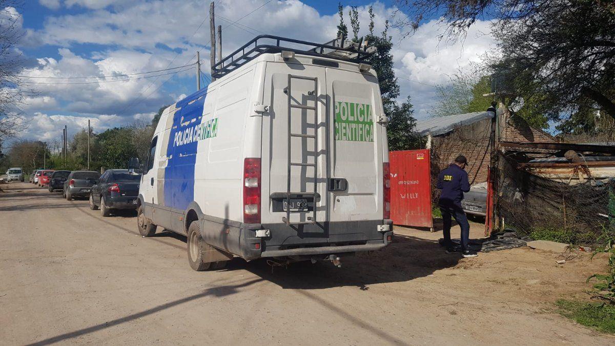 Hallazgo del cadáver en San Vicente: cuatro detenidos por asesinato