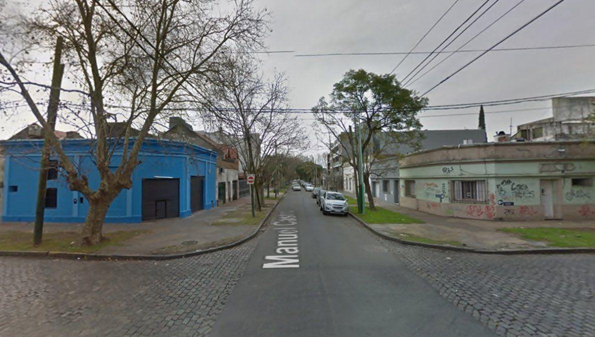 El lugardonde ocurrió el robo a bordo del Uber.Manuel Castro y Larrea