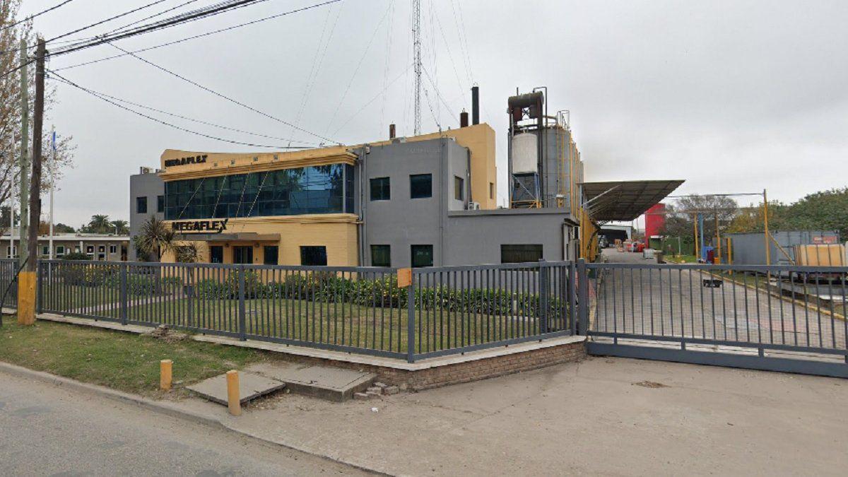 Incendio en una fábrica del Parque Industrial de Burzaco