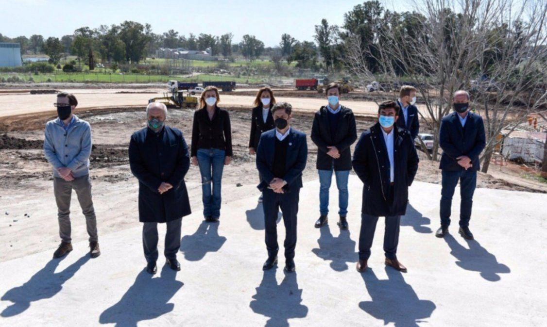 Alberto Fernández y Kicillof anunciaron la reactivación del Camino del Buen Ayre