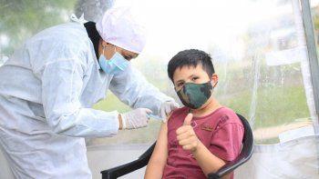 Abrió la inscripción para la vacunación contra el coronavirus de niños y niñas de 3 a 11 años