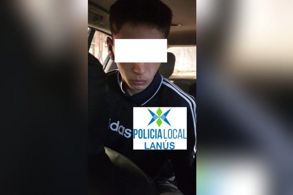 Lanús: Detuvieron a un menor por robo con réplica de arma