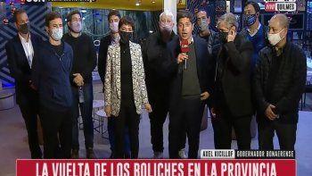 Kicillof anunció la vuelta de los boliches en Provincia