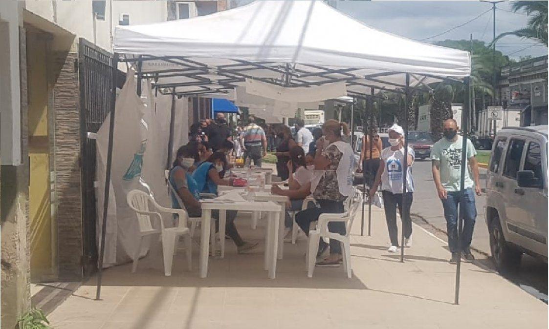 San Vicente: empezó la vacunación contra el coronavirus en el Deportivo