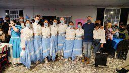 Fernando Gray celebró un nuevo aniversario del ballet Luna Santiagueña