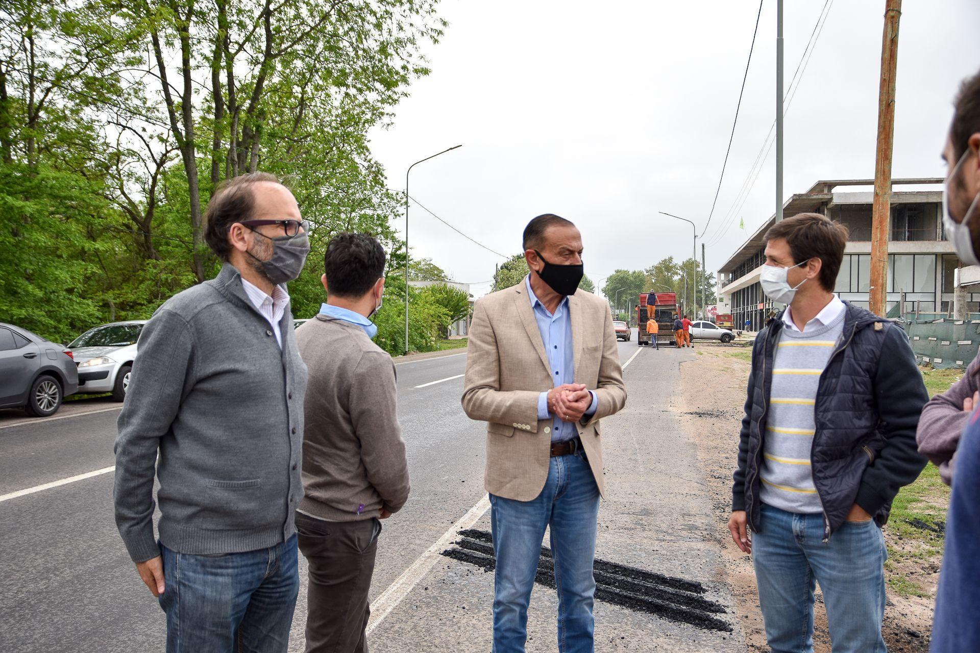 anunciaron 45 cuadras de pavimento en alejandro korn y domselaar: donde seran las obras