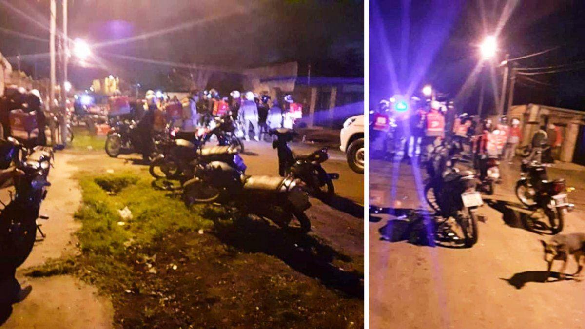Le robaron la moto a un delivery de Monte Grande y la recuperaron con el GPS