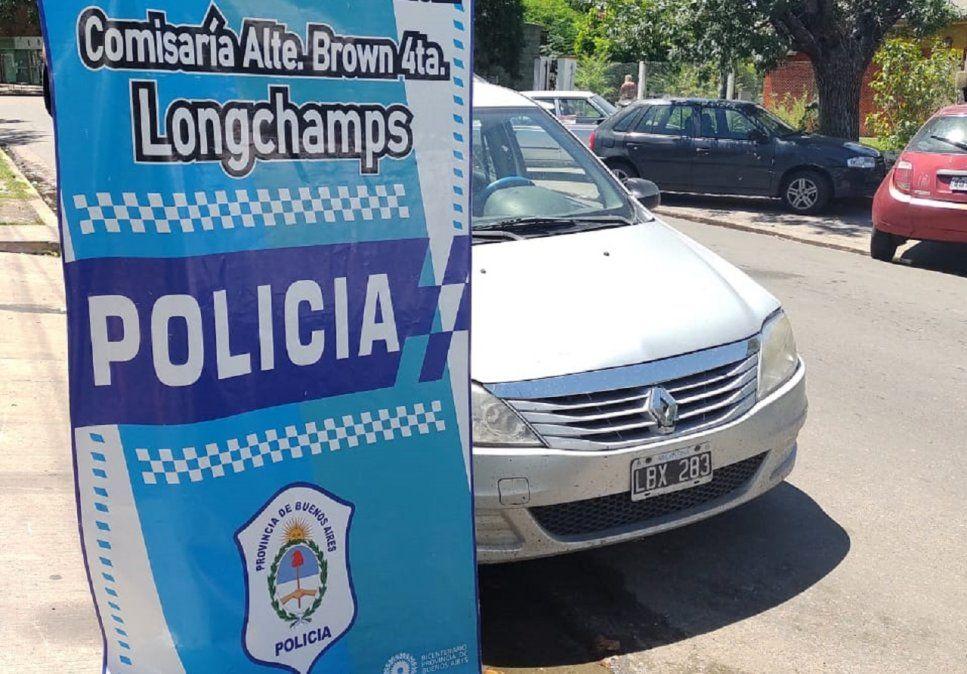 Atraparon a un buscado ladrón de autosen Brown
