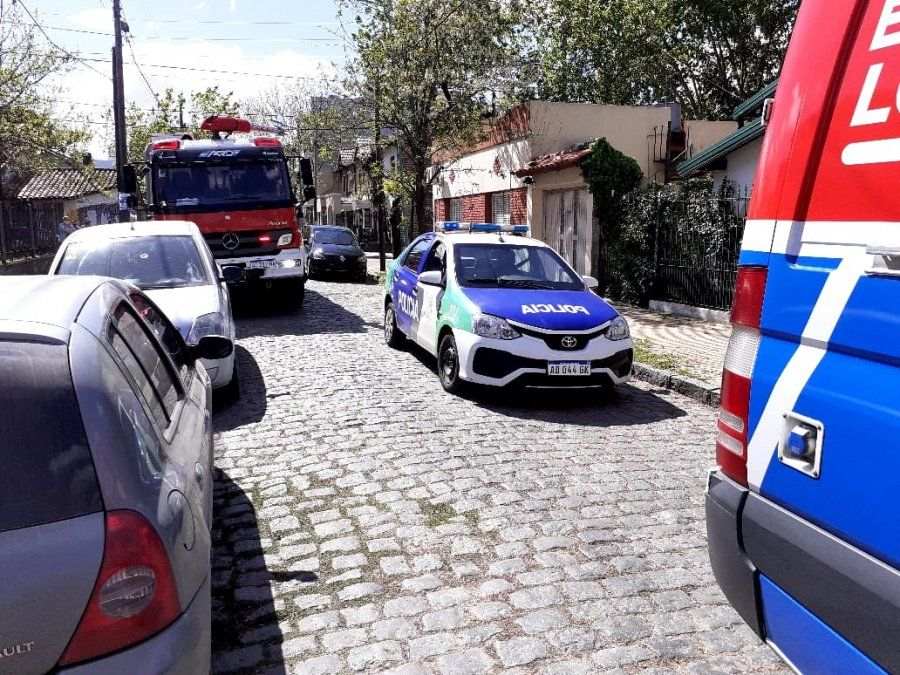 Accidente fatal en Temperley: un obrero murió aplastado por una pared