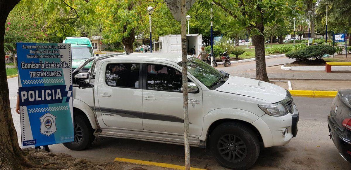 Ezeiza: detuvieron a una banda que vendía autopartes robadas