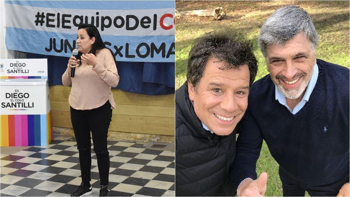 Interna de Juntos: Cecilia Gómez va por la lista de Santilli, mientras que Pellegrini acompaña a Manes.