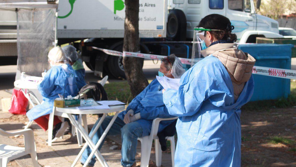Almirante Brown sumó más de 3.600 casos de coronavirus en 10 días