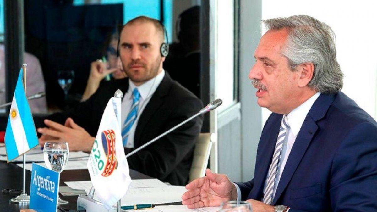 Alberto Fernández en la Cumbre del G20.