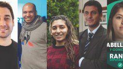 Imagen de todos los candidatos en Lanús para las elecciones generales.