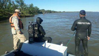 Una lancha en la que iban vecinos de Lomas se hundió en el Río Paraná