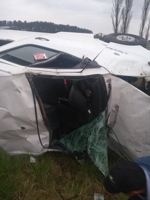 San Vicente: impactante accidente vehicular en la Ruta 6