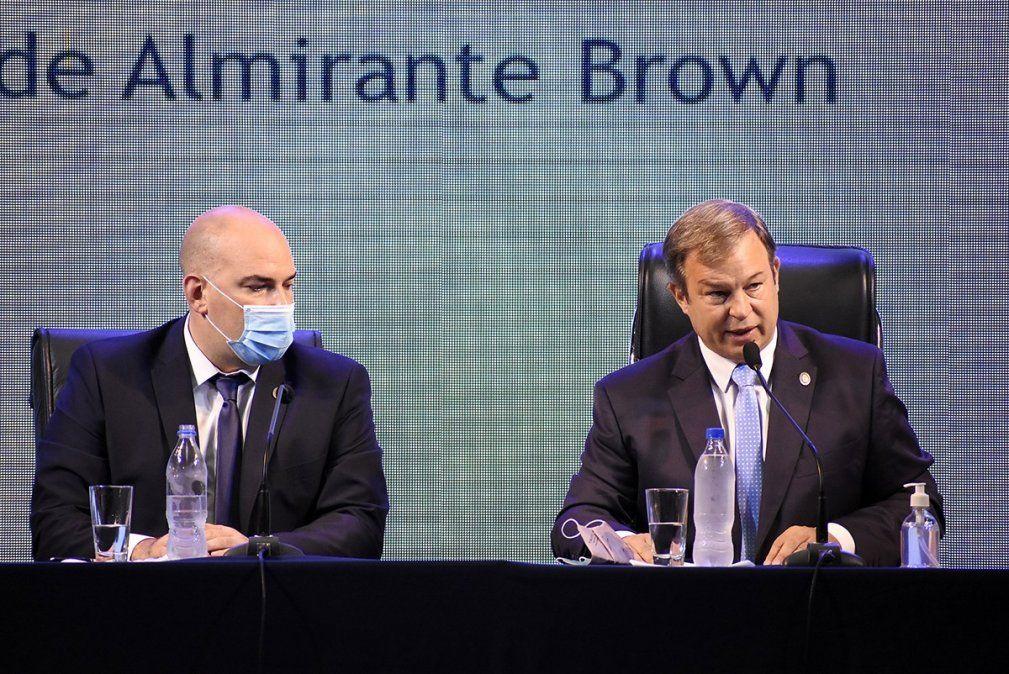 Los diez anuncios de Cascallares en la apertura de sesiones en Almirante Brown