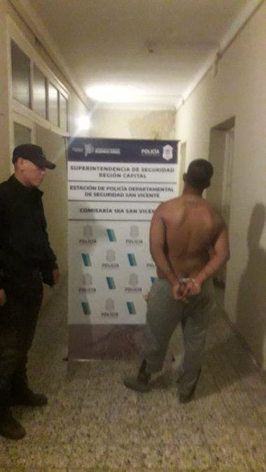 San Vicente: Madrugada de peleas y agresiones a la Policía