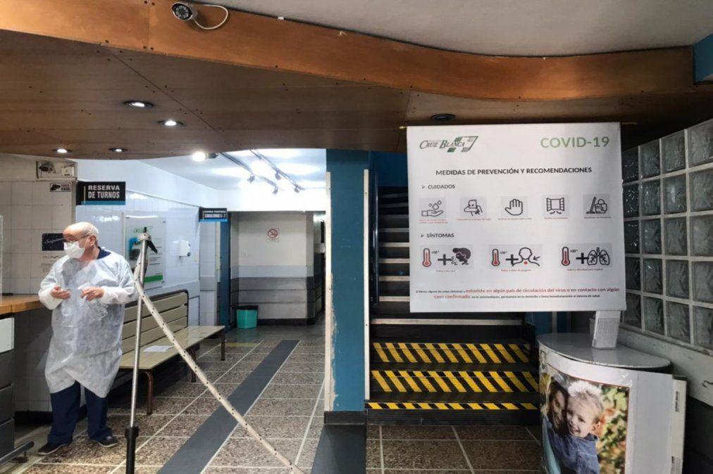 El drama de una clínica en Lanús con 100% de ocupación en terapia: La pandemia no respeta el carnet de la obra social