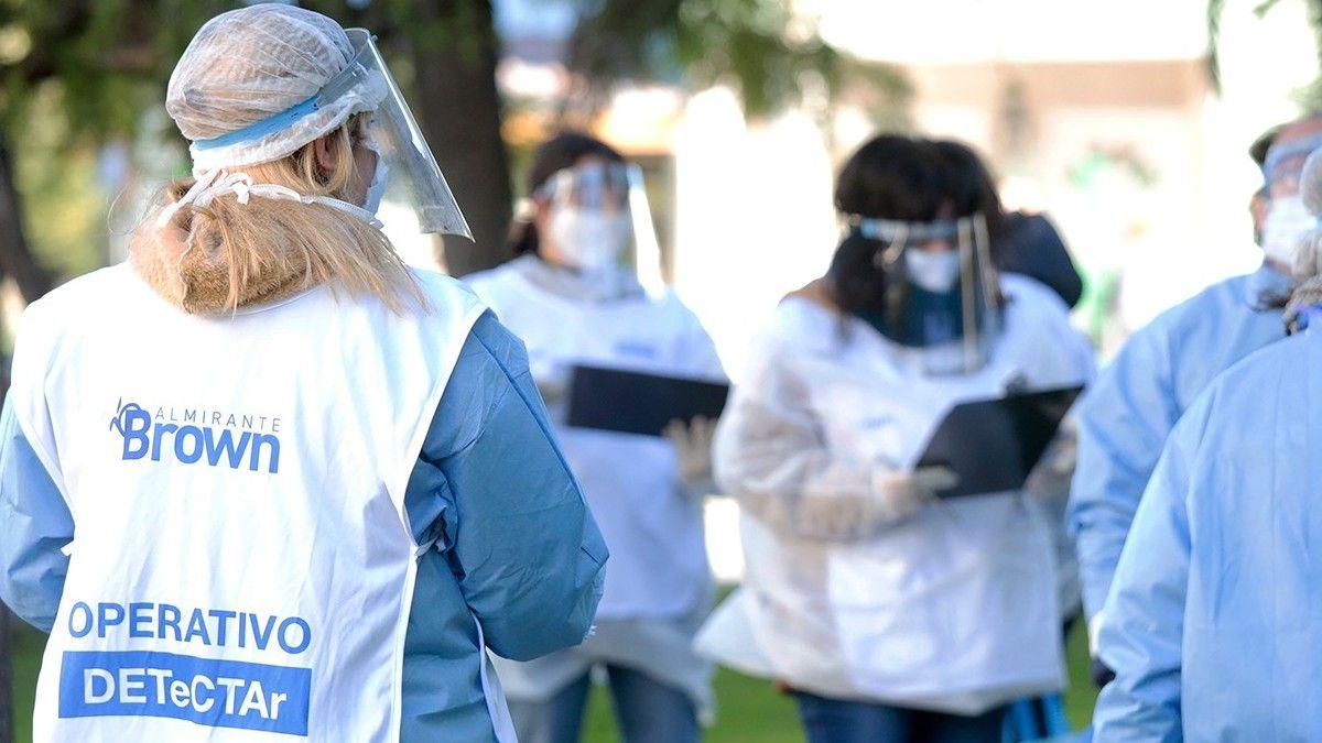 Almirante Brown superó los 70 mil contagios de coronavirus