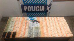 dos detenidos por una entradera en banfield: les incautaron casi 200 mil pesos