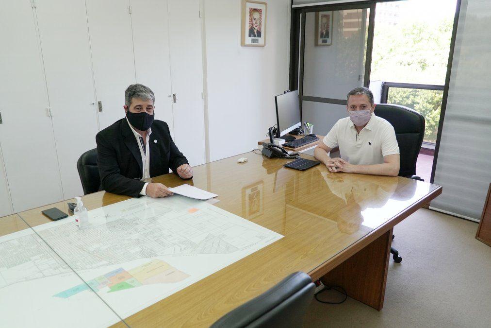 Fernando Gray se reunió con el presidente del ERAS