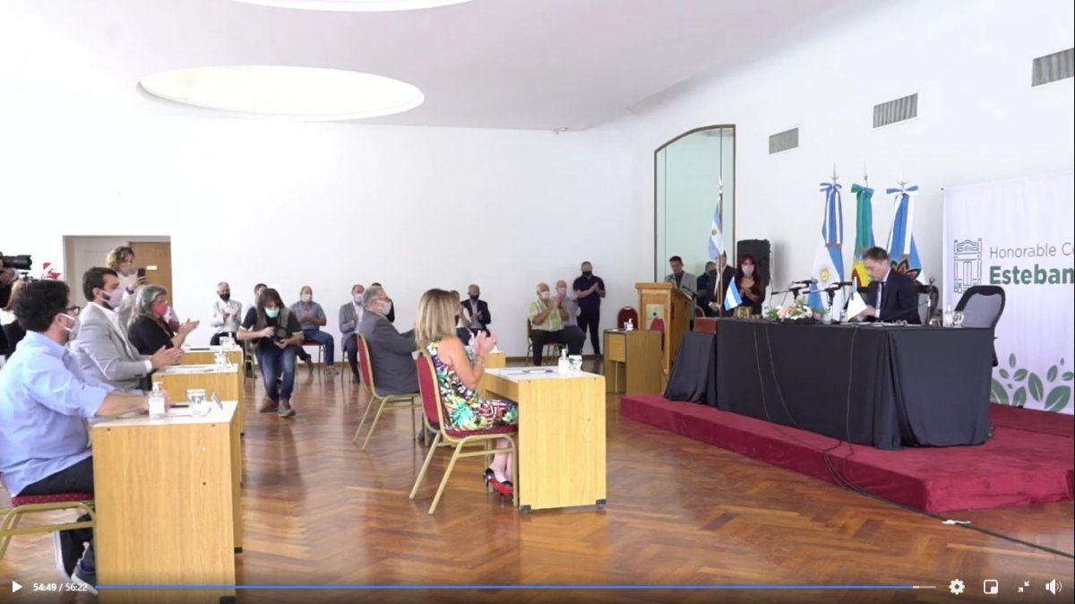 Fernando Gray abrió las sesiones en Esteban Echeverría: repaso de la gestión de la pandemia y planes para 2021