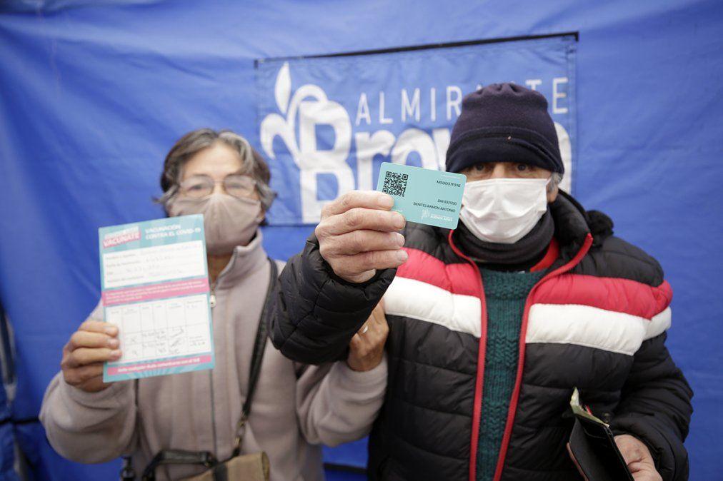 Almirante Brown suma cuatro postas para vacunar contra el coronavirus