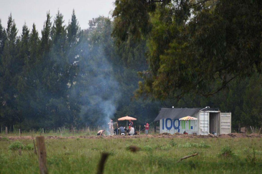 Denuncian la usurpación de un campo en San Vicente y mencionan a dos abogados